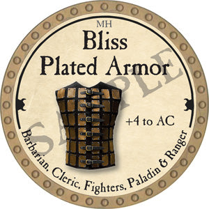 Bliss Plated Armor - 2018 (Gold)