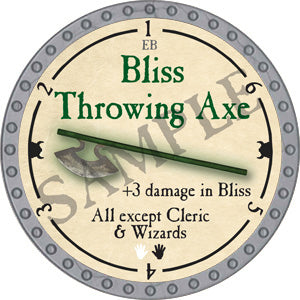 Bliss Throwing Axe - 2018 (Platinum)
