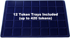 Token Aluminum Case - 12 Trays (included)