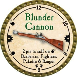 Blunder Cannon - 2013 (Gold)