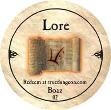 Boaz (Lore) - 2010 (Copper)