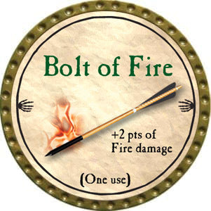 Bolt of Fire - 2012 (Gold)