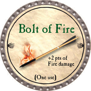 Bolt of Fire - 2012 (Platinum) - C37