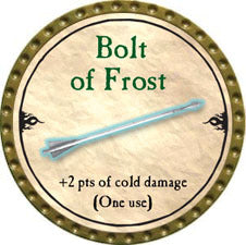 Bolt of Frost - 2010 (Gold) - C37