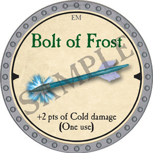 Bolt of Frost - 2019 (Platinum)