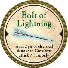 Bolt of Lightning - 2008 (Gold)
