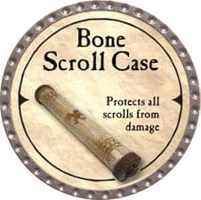 Bone Scroll Case - 2007 (Platinum)