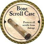 Bone Scroll Case - 2008 (Gold)
