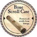 Bone Scroll Case - 2008 (Platinum) - C37