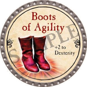 Boots of Agility - 2016 (Platinum) - C51