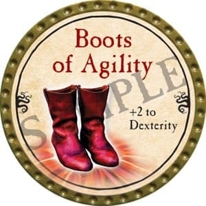 Boots of Agility - 2016 (Gold) - C9