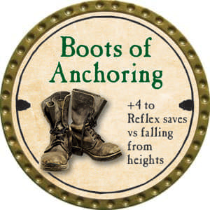 Boots of Anchoring - 2014 (Gold)