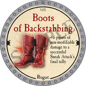 Boots of Backstabbing - 2018 (Platinum)