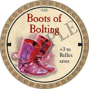 Boots of Bolting - 2020 (Gold)