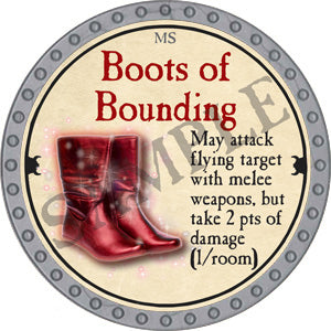 Boots of Bounding - 2018 (Platinum)