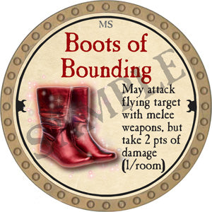 Boots of Bounding - 2018 (Gold)