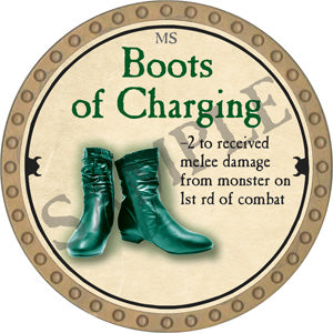 Boots of Charging - 2018 (Gold)