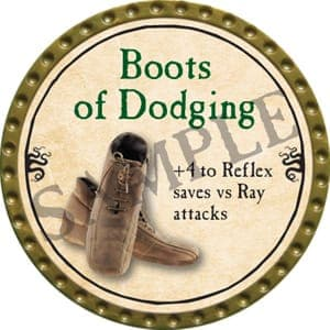 Boots of Dodging - 2016 (Gold)
