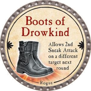 Boots of Drowkind - 2015 (Platinum) - C37