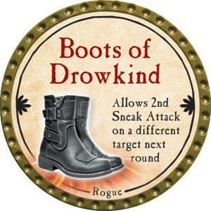 Boots of Drowkind - 2015 (Gold)