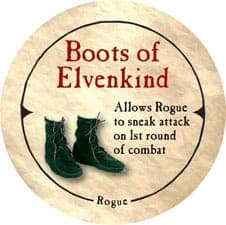 Boots of Elvenkind - 2006 (Wooden) - C37