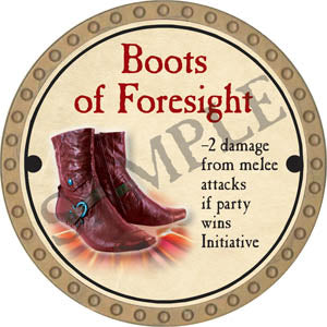 Boots of Foresight - 2017 (Gold) - C22