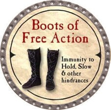 Boots of Free Action - 2007 (Platinum)