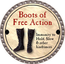 Boots of Free Action - 2011 (Platinum) - C37