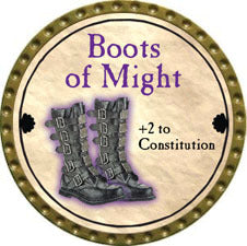Boots of Might - 2011 (Gold) - C37