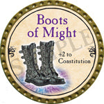 Boots of Might - 2016 (Gold) - C3