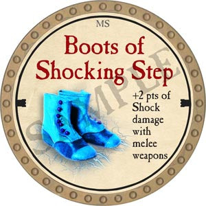 Boots of Shocking Step - 2020 (Gold) - C54