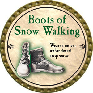 Boots of Snow Walking - 2012 (Gold)