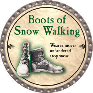 Boots of Snow Walking - 2012 (Platinum) - C37
