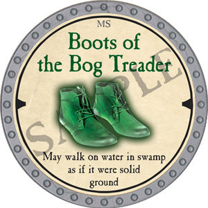 Boots of the Bog Treader - 2019 (Platinum)