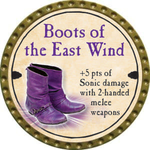 Boots of the East Wind - 2014 (Gold)