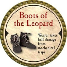 Boots of the Leopard - 2008 (Gold)