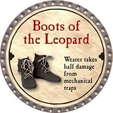 Boots of the Leopard - 2008 (Platinum) - C37