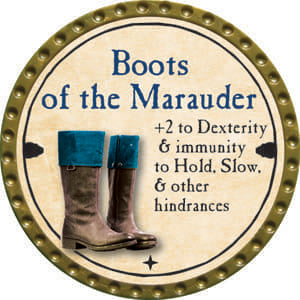 Boots of the Marauder - 2014 (Gold)