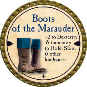 Boots of the Marauder - 2014 (Gold) - C26