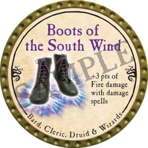 Boots of the South Wind - 2016 (Gold) - C21