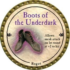 Boots of the Underdark - 2009 (Gold) - C38