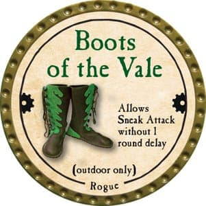 Boots of the Vale - 2013 (Gold)