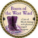Boots of the West Wind - 2015 (Gold) - C1