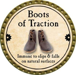Boots of Traction - 2013 (Gold)