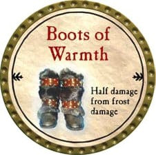 Boots of Warmth - 2009 (Gold)