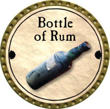 Bottle of Rum - 2011 (Gold)