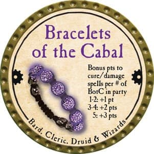 Bracelets of the Cabal - 2013 (Gold) - C007