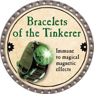 Bracelets of the Tinkerer - 2013 (Platinum)