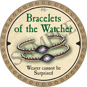 Bracelets of the Watcher - 2019 (Gold) - C22