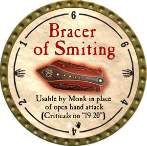 Bracer of Smiting - 2012 (Gold) - C37